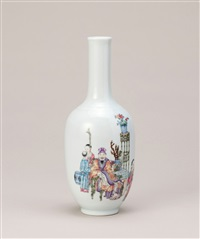 诗礼传家风 (family education, a vase) by liang duishi