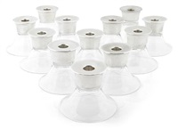candle holders (set of 12) by allan adler