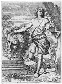 david mit dem abgeschlagenen haupt des goliath by ferrantes rosati