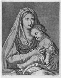 maria mit dem christkinde (after francisco bayeu y subias) by ramon bayeu y subias