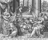 die fünf klugen und die fünf törichten jungfrauen by harmen jansz von müller