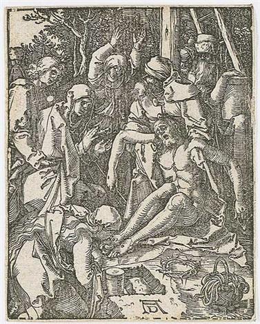 die beweinung christi by albrecht dürer