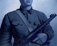 soldat bleu by chen ying-teh