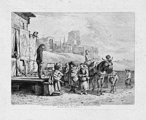 les grands charlatans after karel dujardin by jean jacques de boissieu