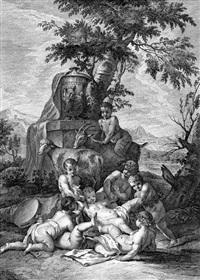 età, che sempre scherza (after sebastiano ricci) by jacopo leonardis