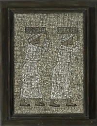 two figures by park soo-keun