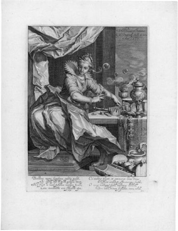 vanitas after abraham bloemaert by willem isaaksz swanenburgh the elder