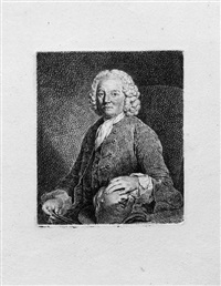 der bildhauer carl philipp glume (+ 3 others; 4 works) by johann gottlieb glume