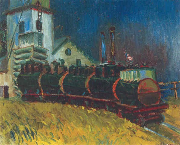 train cars by anders gustave aldrin