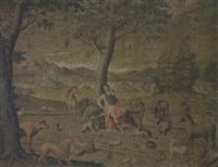 orpheus unter den tieren by sinibaldo scorza