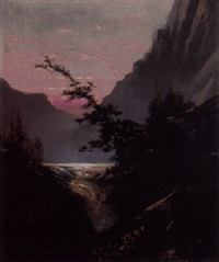 twilight in the wilderness by jules tavernier
