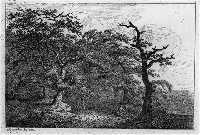 acht landschaften complete set of 8 by friedrich rauscher