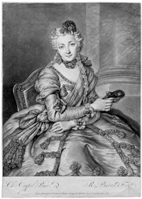 bildnis der jungen mrs. ann warner (after nicolas de largillière) (+ 2 others; 3 works) by john smith