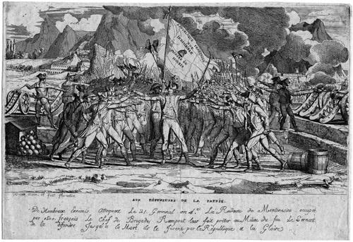 der schwur der französischen soldaten bei montenesino monte legino by jean baptiste joseph wicar