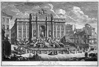fontana di trevi by carlo antonini