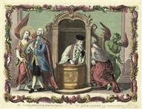 die beichte einer sündigen frau (sacramentum poenitenna) by remondini