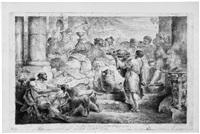 der reiche mann und der kranke lazarus by bernhard (christian bernhard) rode