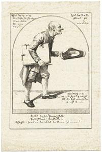 der alte maler by gottfried (johann gottfried) schadow