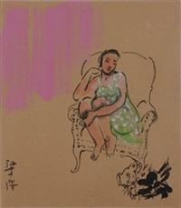 绿裙子 by liang ying