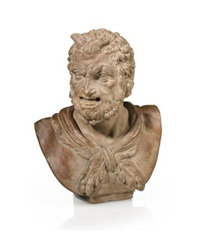 bust of a satyr by continental school (18)