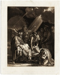 die beweinung christi by francois-xavier fabre