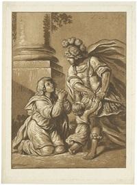 le guerrier menaçant (der drohende krieger) by pierre lelu