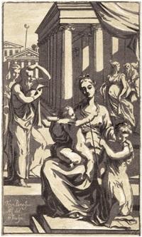 die madonna mit dem kind und dem johannesknaben by antonio maria zanetti