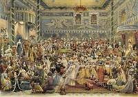 babylonisches fest by raymond-joseph de fournier-sarloveze