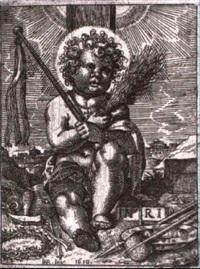 das christkind mit den marterwerkzeugen by bartholomäus reiter