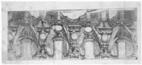 barocker deckenentwurf (after angelo michele colonna) by angelo michele colonna
