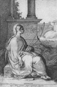 allegorie des fleißes by pieter janz saenredam