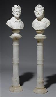 büsten des torquato tasso und des petrarcus (pair) by anonymous-italian (19)