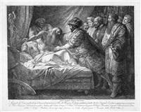 allegorie der malerei (der tod des leonardo da vinci) by giuseppe cades