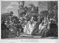 allegoria del carnevale (das menuett) (after giovanni domenico tiepolo) by jacopo leonardis