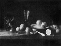 still life with spoon, prague by douglas w. mellor