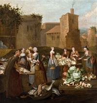 auf dem markt by pieter angillis