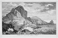 veduta del monte della libera a capri by florian grospietsch