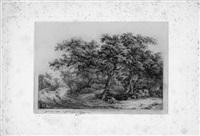 le paysage de ruisdael by eugene blery