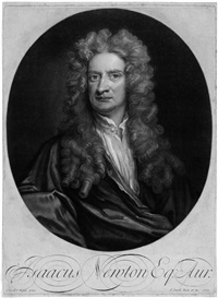 bildnis sir isaac newtons (after sir godfrey kneller) by john raphael smith