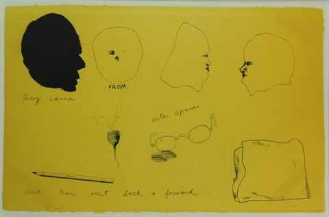 they came from outer space and then went back forward by jim dine