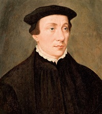 porträt eines jungen mannes by hans holbein the younger
