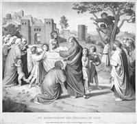 die auferweckung des jünglings zu nain (by hermann kauffmann) by johann friedrich overbeck