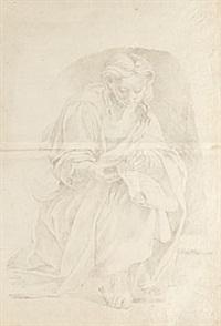 hukande madonna by carl-frederik akrel