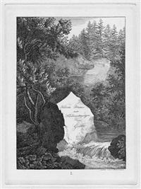 radirte blätter nach handzeichnungen von goethe (portfolio of 6, 4to, after goethe) by carl wilhelm lieber and carl wilhelm holdermann