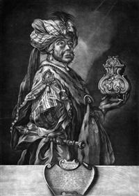 die heiligen drei könige: caspar, melchior und s. balthasar (3 works) by johann elias ridinger