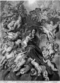 die krönung mariens by cornelis de visscher