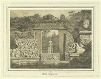 antike fragmente, pl. 8 (from original-handzeichnungen bayrischer künstler) by friedrich von gartner