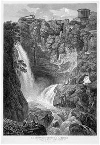 la grotta di nettuno a tivoli by friedrich wilhelm gmelin