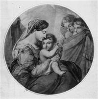 maria, sitzend mit dem jesusknaben (+ 5 others; 6 works) by maria electrina von freyberg
