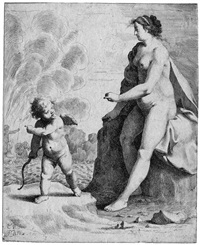 venus und amor (after cornelis van poelenburg) by jan gerritsz van bronckhorst